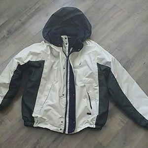 Reversible Nautica coat and fleece jacket